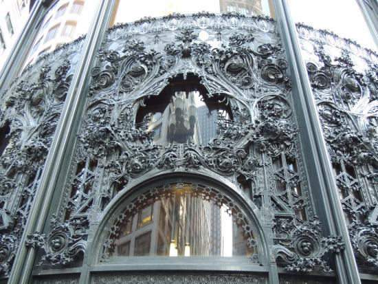 Unique wrought iron architecture picture of chicago for R architecture tours