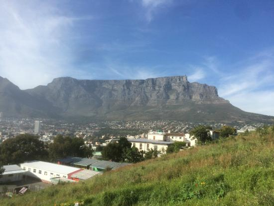 Table Mountain from the road above Upperbloem