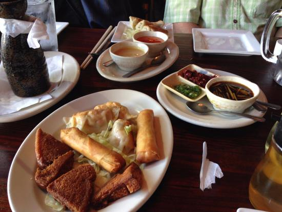 Appetizer sampler pick 3 picture of kam 39 s fine chinese for Appetizer chinese cuisine