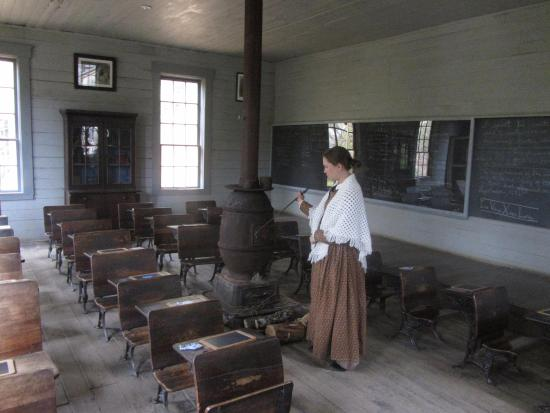 Avella, PA: Old School House in the 1890's Village