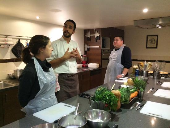 Great experience chef eric is informative and energetic - La cuisine cooking classes ...