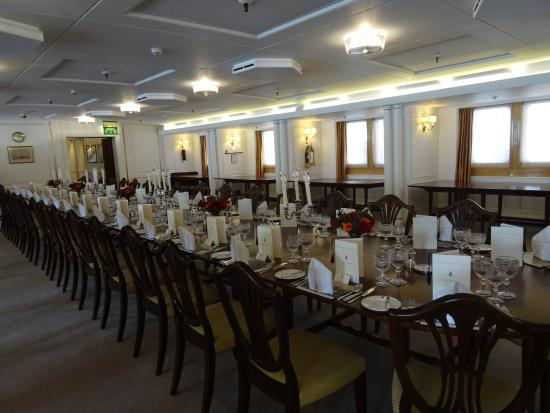 royal dining room picture of royal yacht britannia
