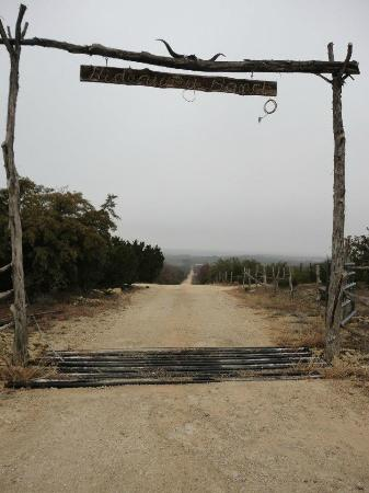 Bluff Dale, TX: Entrance to the Ranch