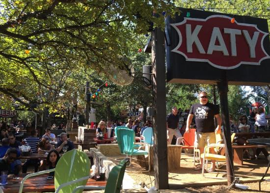 View of the patio - Picture of The Katy Trail Ice House ... Katy Trail Ice House