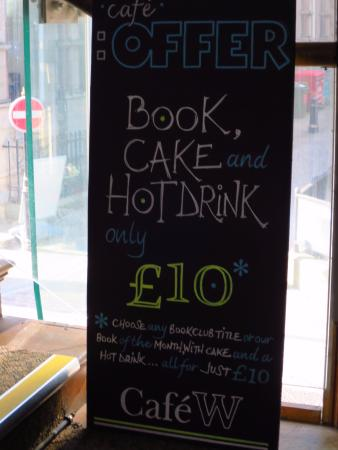 West Yorkshire, UK: Special offer, book and food for a tenner
