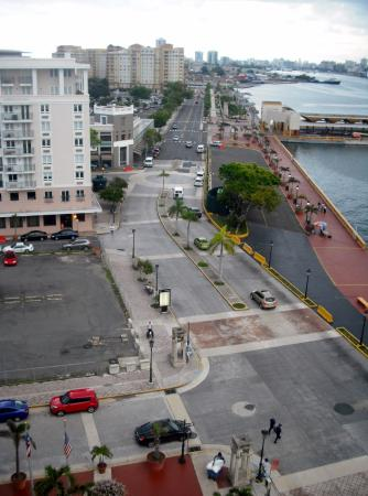 Sheraton Old San Juan Hotel: View from atop the hotel pool area