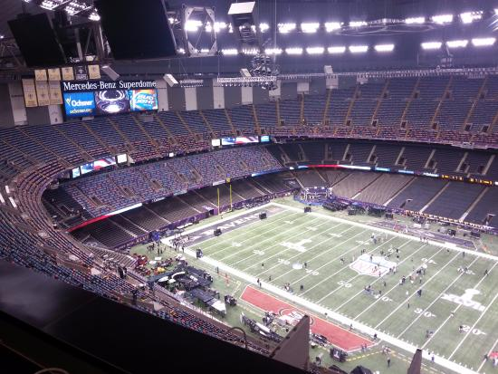 Mercedes benz superdome picture of louisiana superdome for Mercedes benz superdome new orleans la