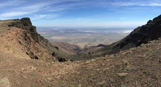 Frenchglen, OR: Steens Mountain, looking NE
