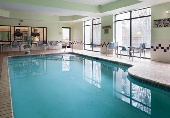 Indoor Pool Picture Of Springhill Suites Charlotte University Research Park Charlotte