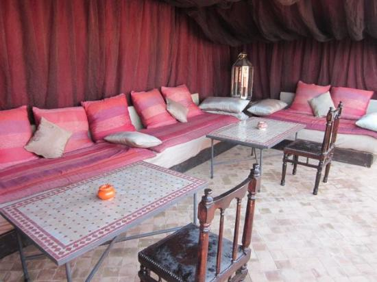 Riad El Zohar: On the roof terrace