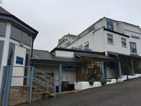 Entrance - obr0e1zek za1590edzen0ed the old coastguard hotel restaurant, mousehole - tripadvisor