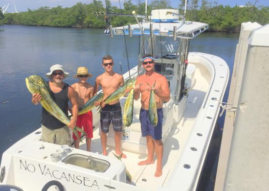 Catch of the day is mahi picture of no vacansea private for Hollywood florida fishing charters