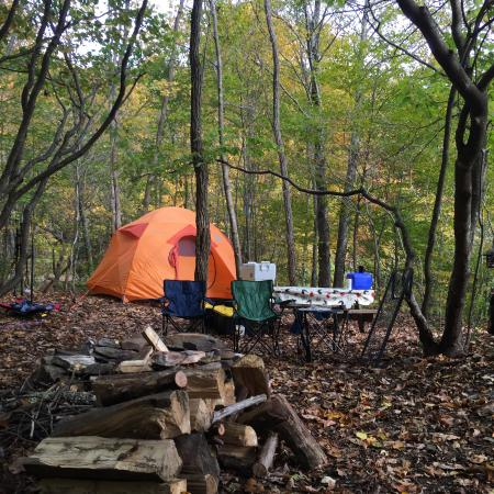 Todd, NC: Remote site 6 (R6) set up.