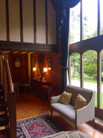 Hindolveston, UK: The living room