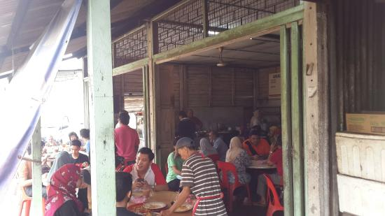 Melaka State, Malaysia: Continuous flow of customers