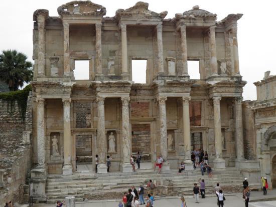 The Library - Picture of Ancient City of Ephesus, Selcuk ...