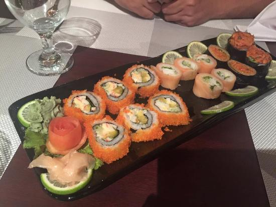 Sushi picture of steakhouse restaurant lounge dhaka for Aka japanese cuisine lounge