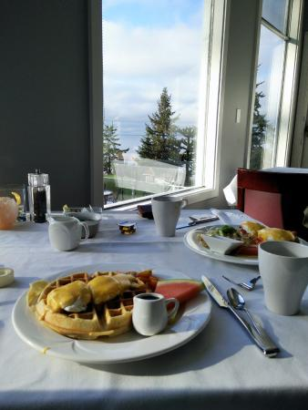 Halfmoon Bay, Canada: brunch