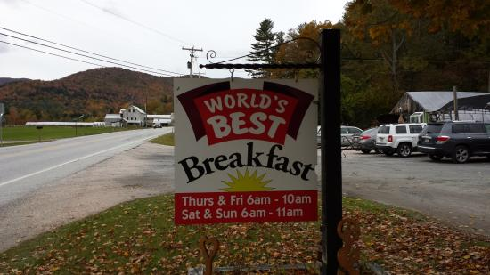 Pittsfield, VT: Can't resist this sign