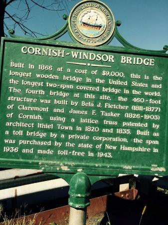 About the Cornish-Windsor Covered Bridge