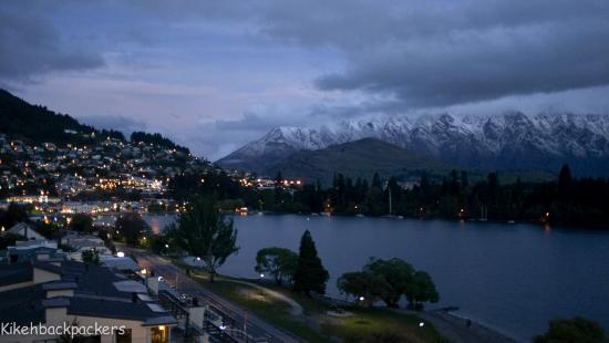 Rydges Lakeland Resort Hotel Queenstown: View from Car Park ( In front of room )