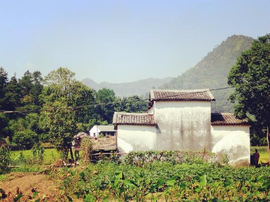 Pingyang County, China: village in the park