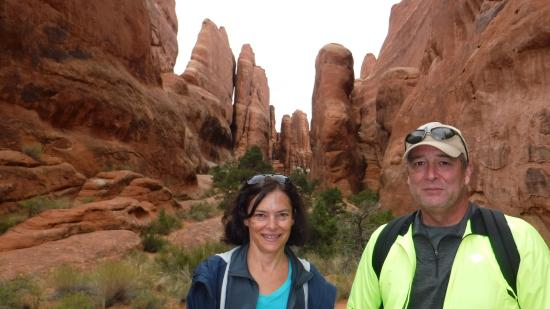 Moab Adventure Center - Day Tours: Fiery Furnace formation