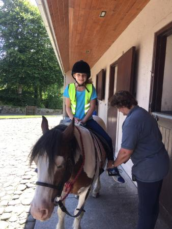 Sheen Falls Lodge: Riding Lesson!