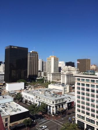 Ramada Gaslamp/Convention Center: Nice view from the rooftop.