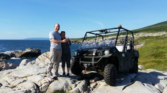 Port aux Basques, Canada: Terrific couple