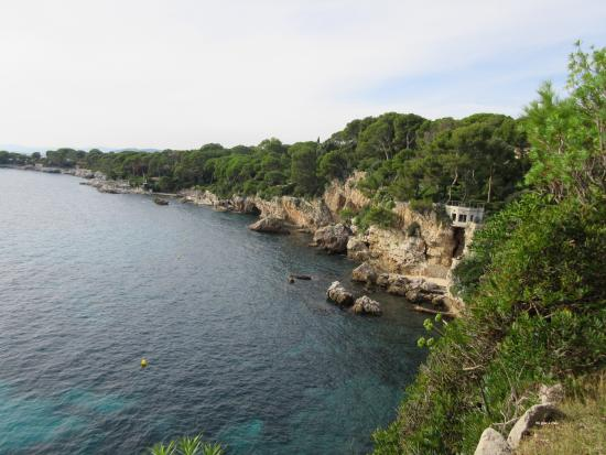 Point de vue du sentier picture of le sentier du littoral cap d 39 antibes antibes tripadvisor - Point p antibes ...