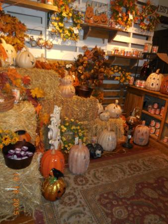 Bernardston, MA: ALL inside the candle shop