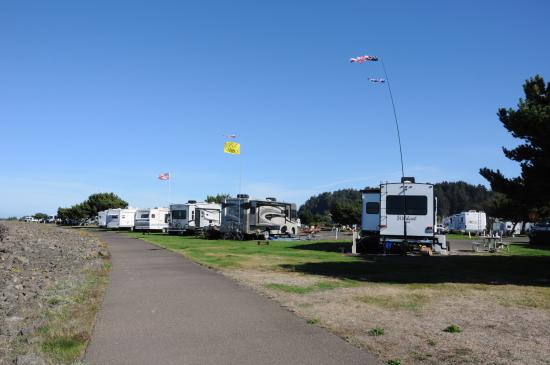 Winchester Bay, OR: View of Site 51