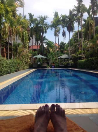 Central Boutique Angkor Hotel: Quiet lovely pool