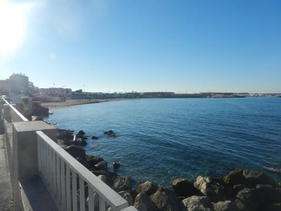 Picture of plage de la pointe rouge for Piscine marseille pointe rouge
