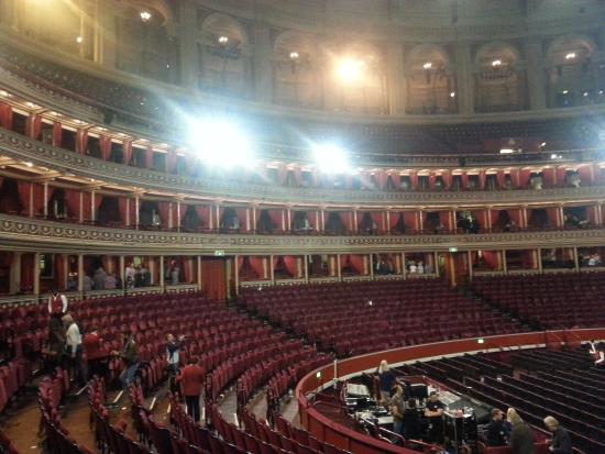 Lights up for Door 12 royal albert hall