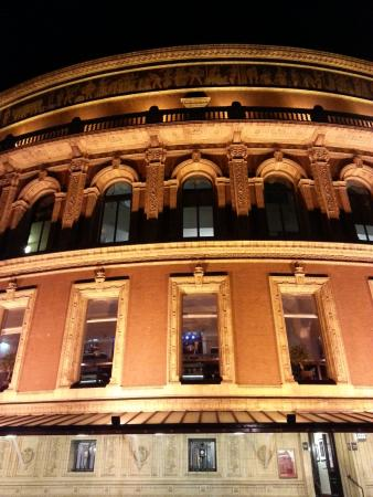 Waiting at the stage door for a glimpse picture of for Door 12 royal albert hall