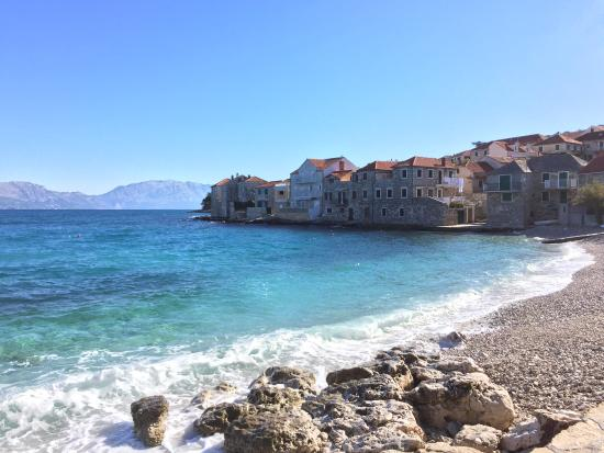 Postira, Croatia: Beautiful view from beach