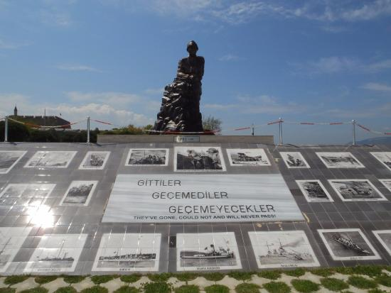 A Proud Boast..! - Picture of Canakkale Naval Museum ...