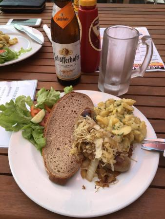 Authentic german cuisine with german staff das essen ist for Authentic german cuisine