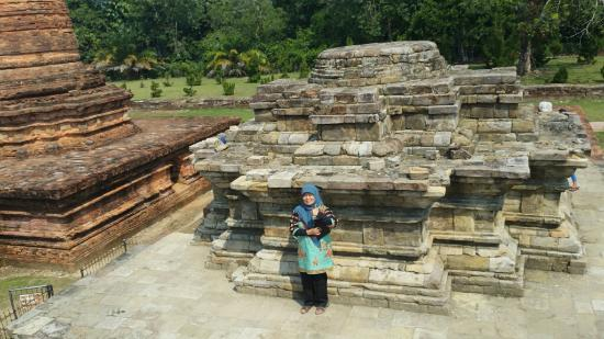 Riau Islands Province, Indonesia: The midle part of the candi