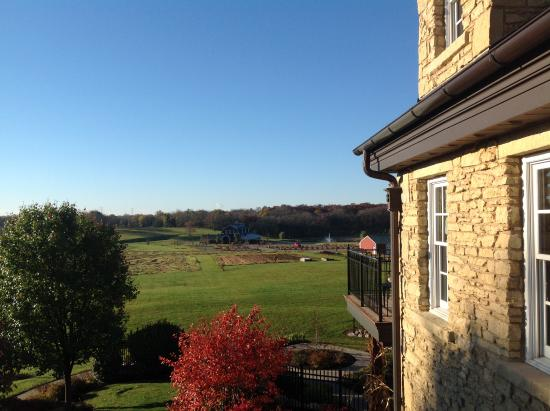 Rockton, IL: View from Northwoods room