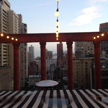 Rooftop Picture Of Pod 39 Hotel New York City Tripadvisor