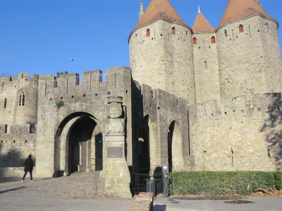 Porte narbonnaise picture of carcassonne medieval city for Porte narbonnaise