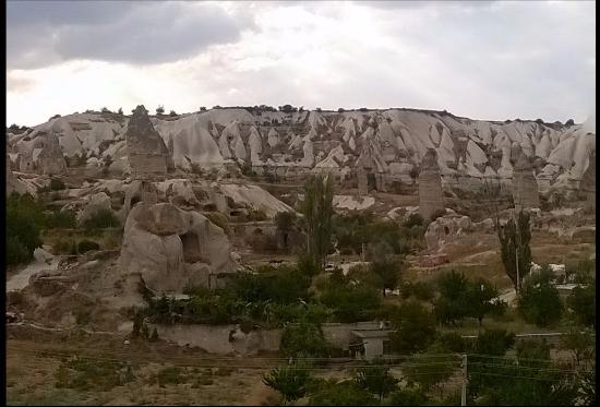 Elif Star Caves: View from my room