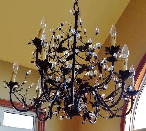Nottawa, Canada: Spectacular Chandelier in new Dining Room addition