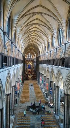 Salisbury Cathedral: On the tower tour