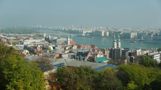View Of The Danube From Room Picture Of Hilton Budapest Castle District Budapest Tripadvisor