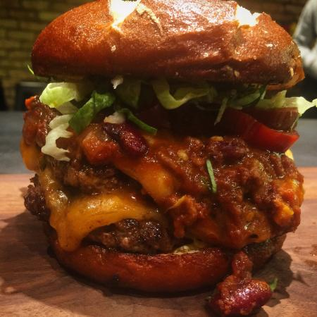 Chili burger - Picture of NY Hot Dogs, Southend-on-Sea - TripAdvisor