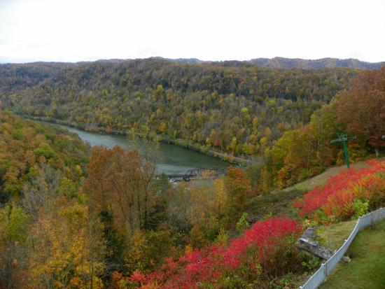 Ansted, WV: view for the room we had